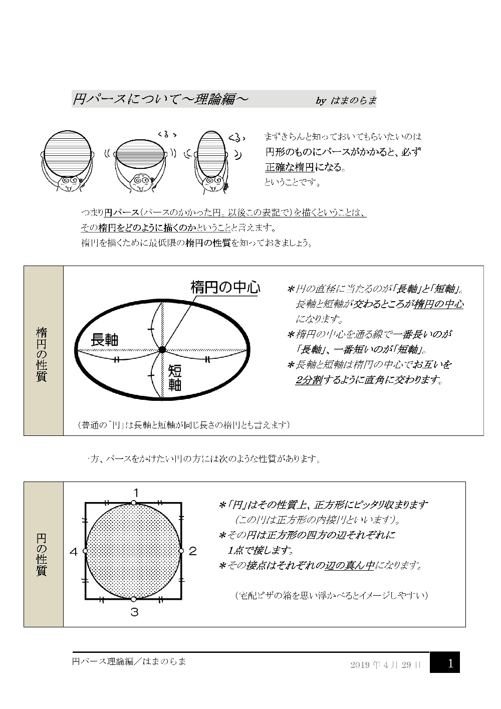 円パース理論編1