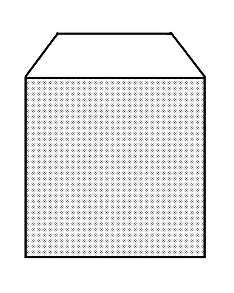 これが1点パースの箱の見え方