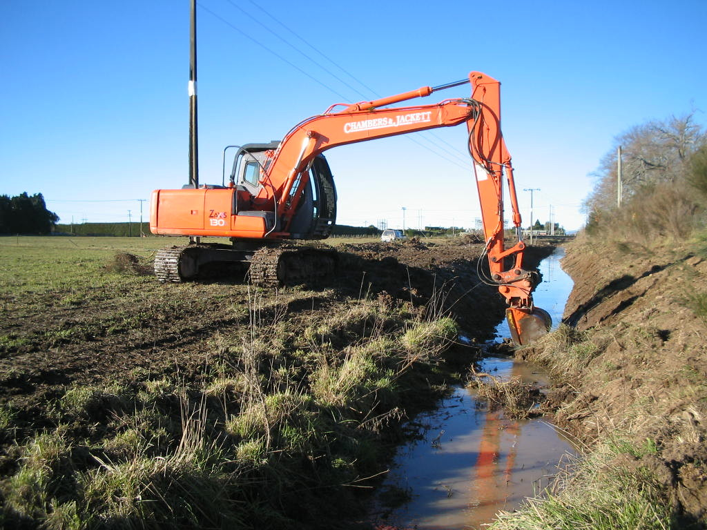 Ditch Cleaning