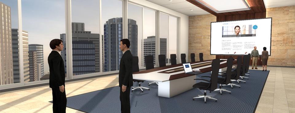 Quelle: 3D Lern- und Arbeitswelt TriCAT Spaces
