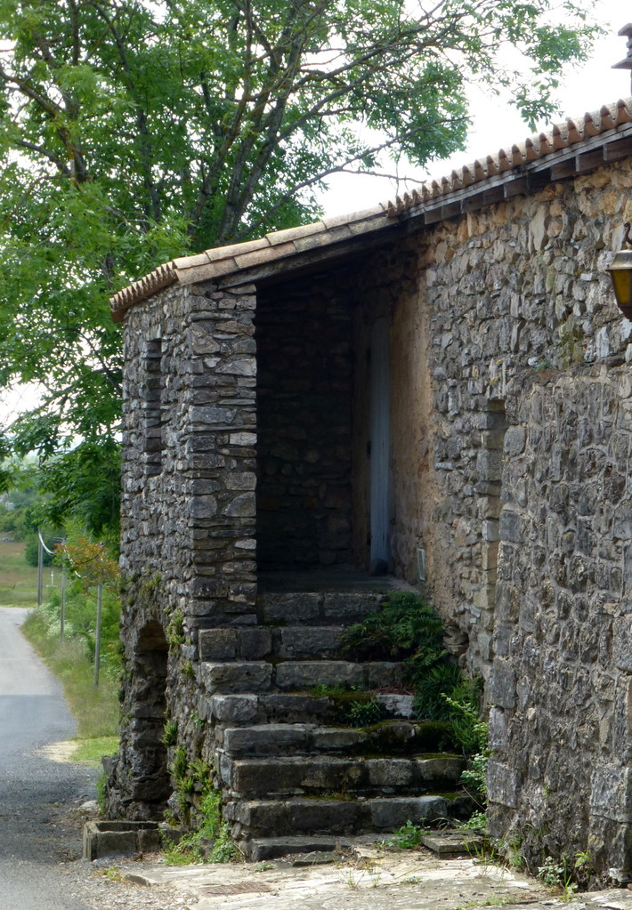 Maison caussenarde à Blandas