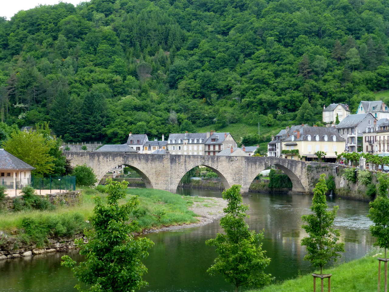 Estaing - Le Pont -