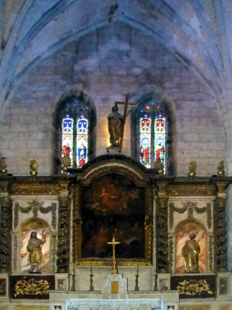 Retable majeur de l'église Saint Pierre à Auvillar