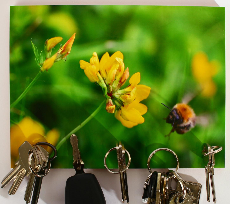 Schlüsselbrett mit Magnet