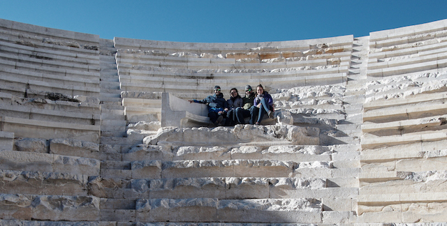 Antike Theater, hier in Aspendos.