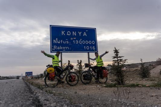 Wir sind in Konya und werden bald auf Ibrahim treffen!