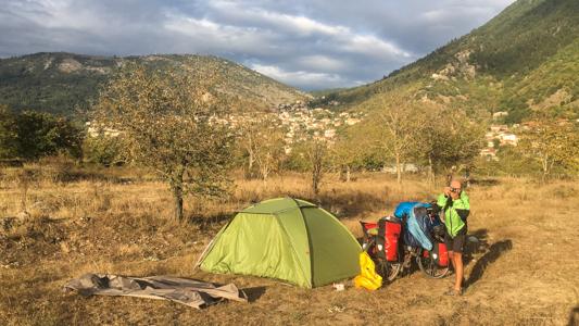 Wildcampen ist in Griechenland ab der ersten Nacht ein leichtes Spiel!