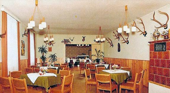 Renovierter Gastraum (um 1995)