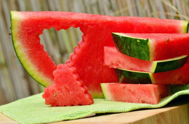 Wassermelonensalat mit Fetakäse