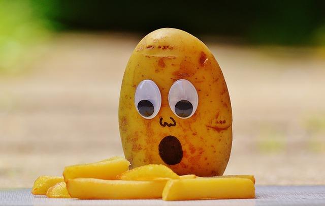 Knusprige gesunde Pommes selbst gemacht!