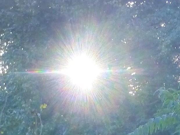 """""""Göttliche Strahlung"""", www.lichtwesenfotografie.com"""