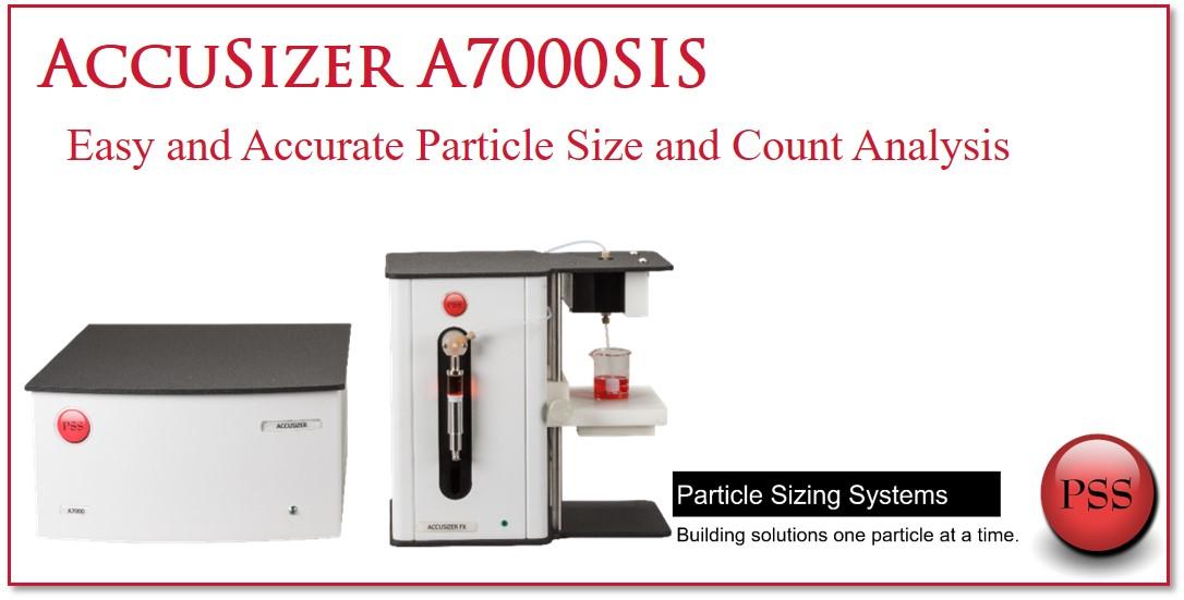 個数カウント 粒度分布 シリンジサンプラー A7000 SIS