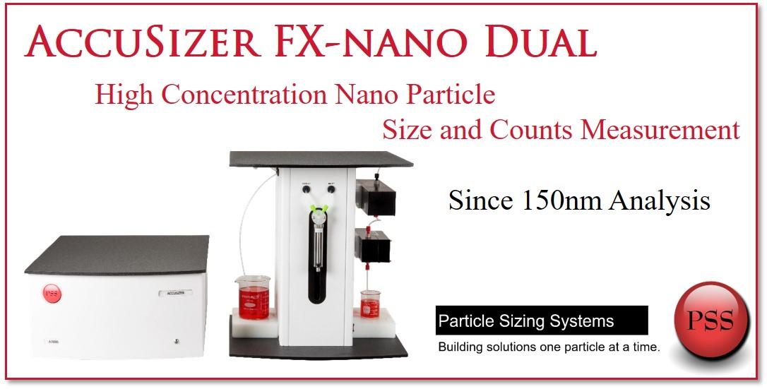 高濃度 ナノ粒子 個数カウント FX-nano Dual