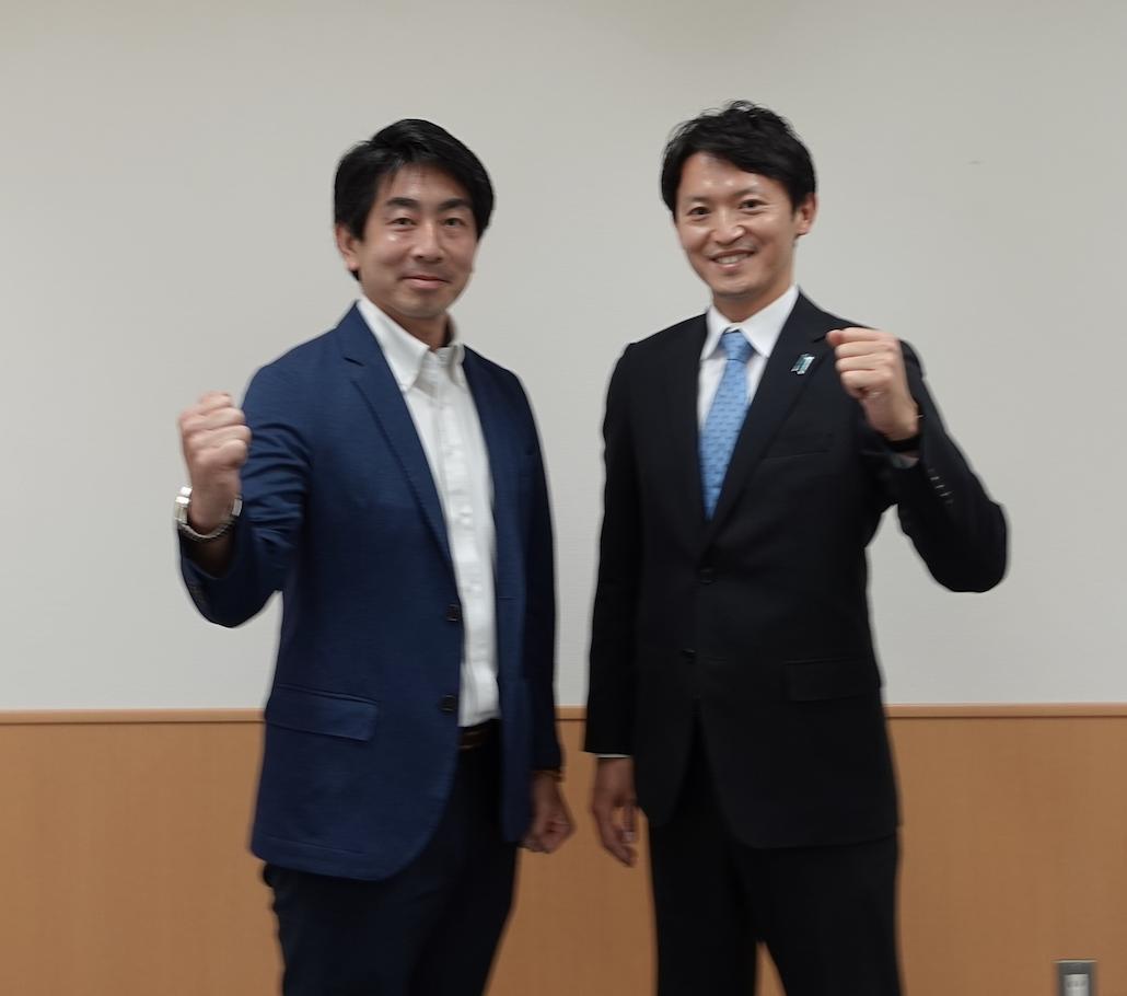 兵庫県知事候補予定者、斎藤 元彦さんとお会いして。