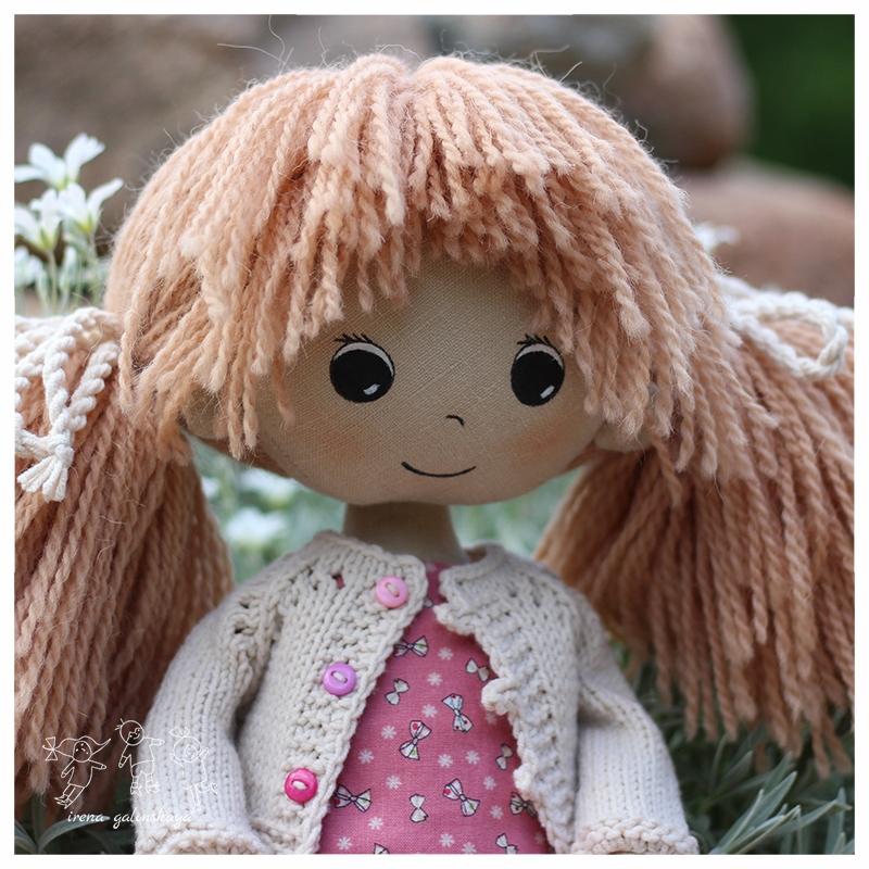 текстильная кукла Полина
