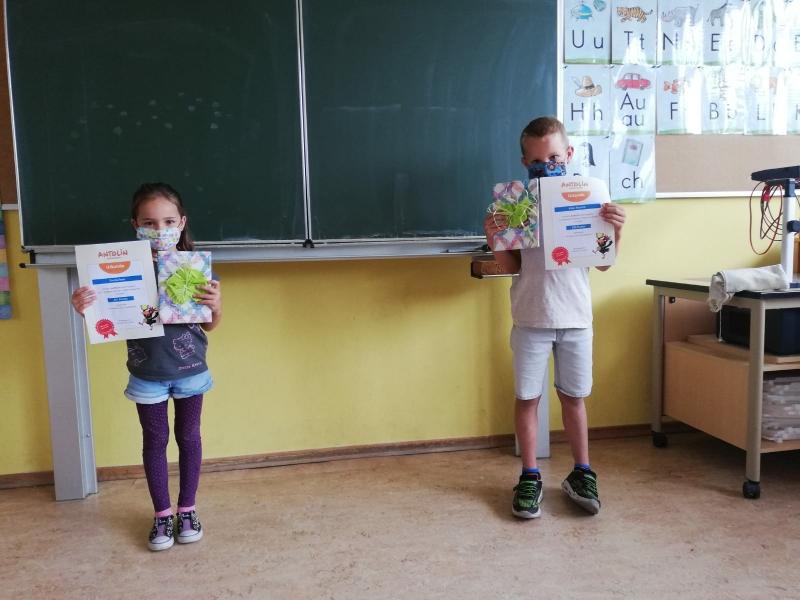 Antolin-Gewinner der 1.Klasse