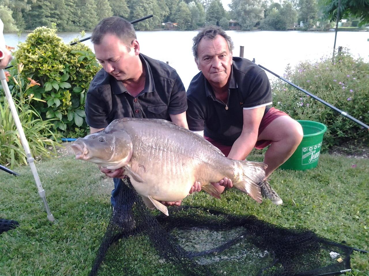 CARPE DE 23 kgs Julien et Patrice