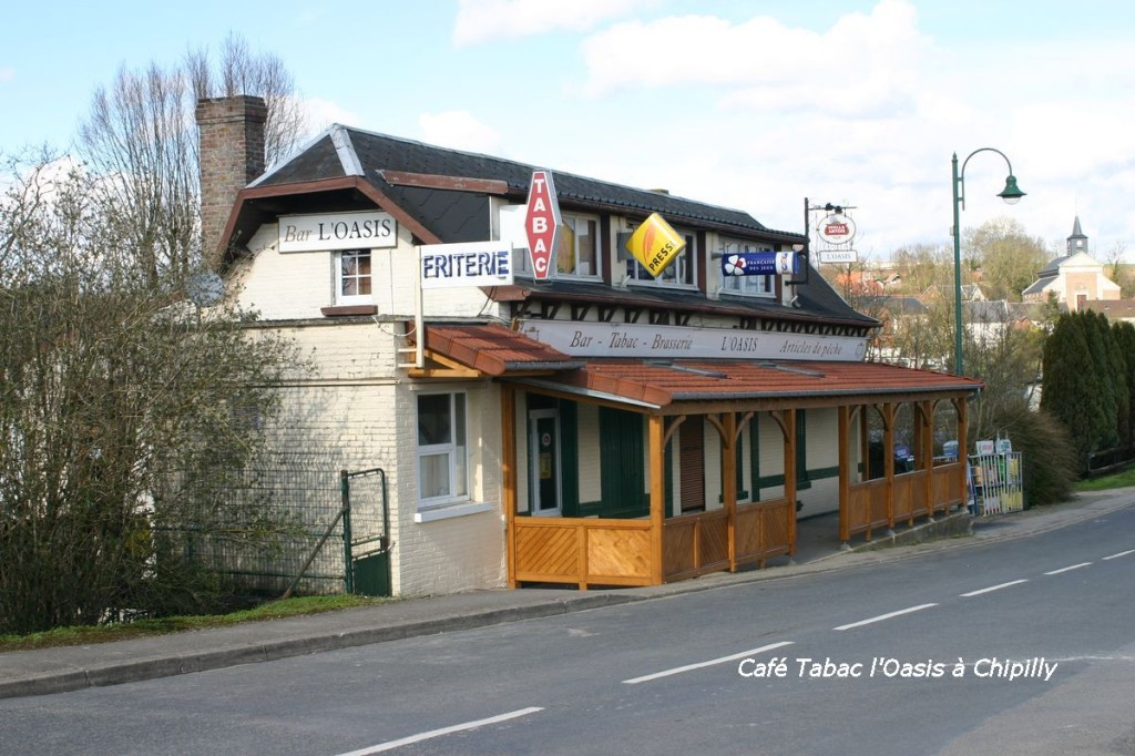 Café de l'Oasis 21, rue du Pont Chipilly