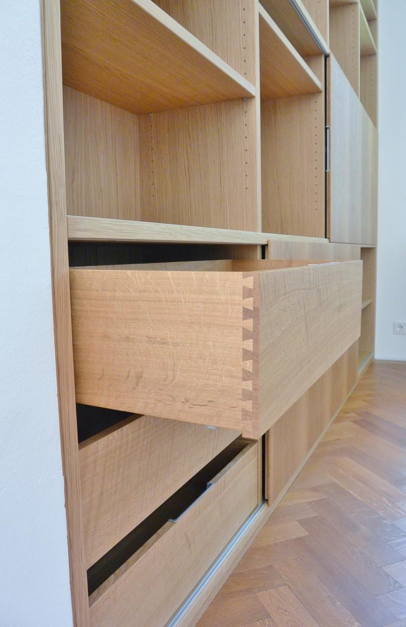 b cherregal in eiche schreinerei holzdesign rapp geisingen. Black Bedroom Furniture Sets. Home Design Ideas