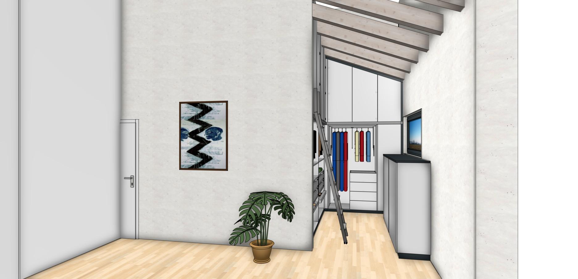 Planung - Einbauschrank - Innenaustattung nach Kundenwunsch