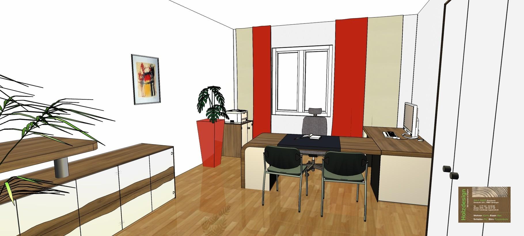 Planung Büroeinrichtung Abbildung Büroeinrichtung komplett