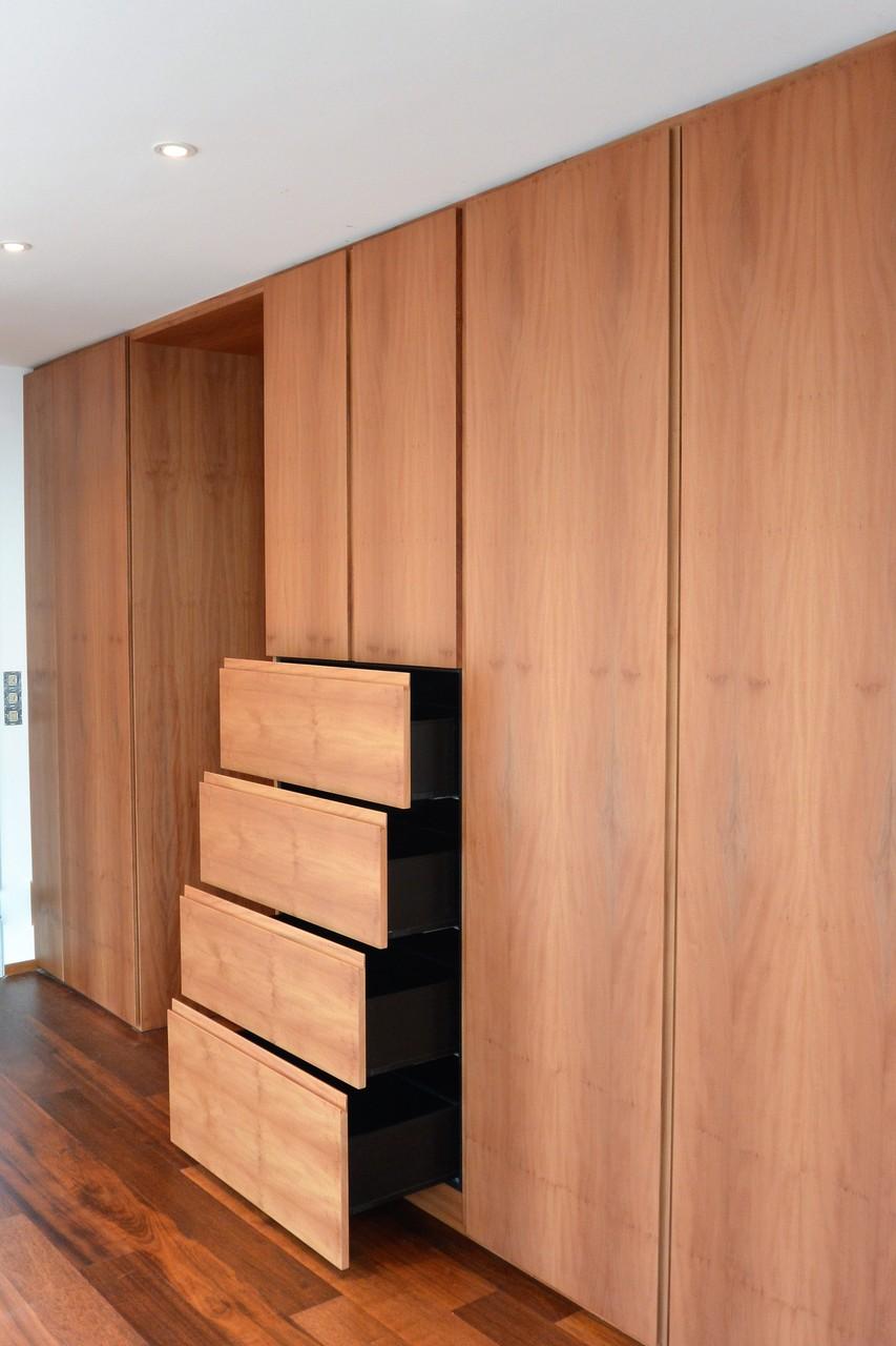 Schubkasen, Blum Legra-Box mit hohen Seiten