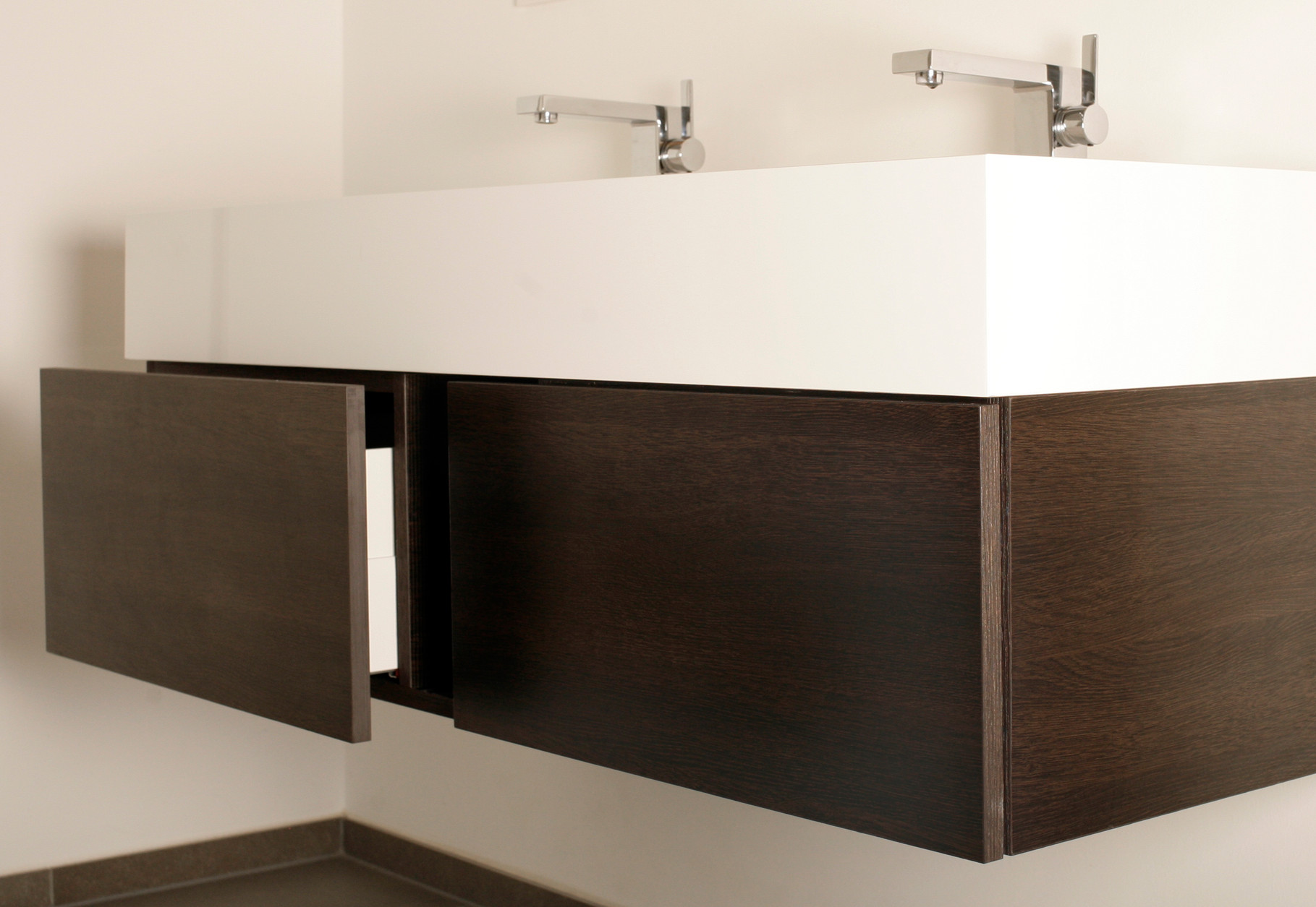 Waschtischunterschrank - Schreinerei - Holzdesign Rapp Geisingen