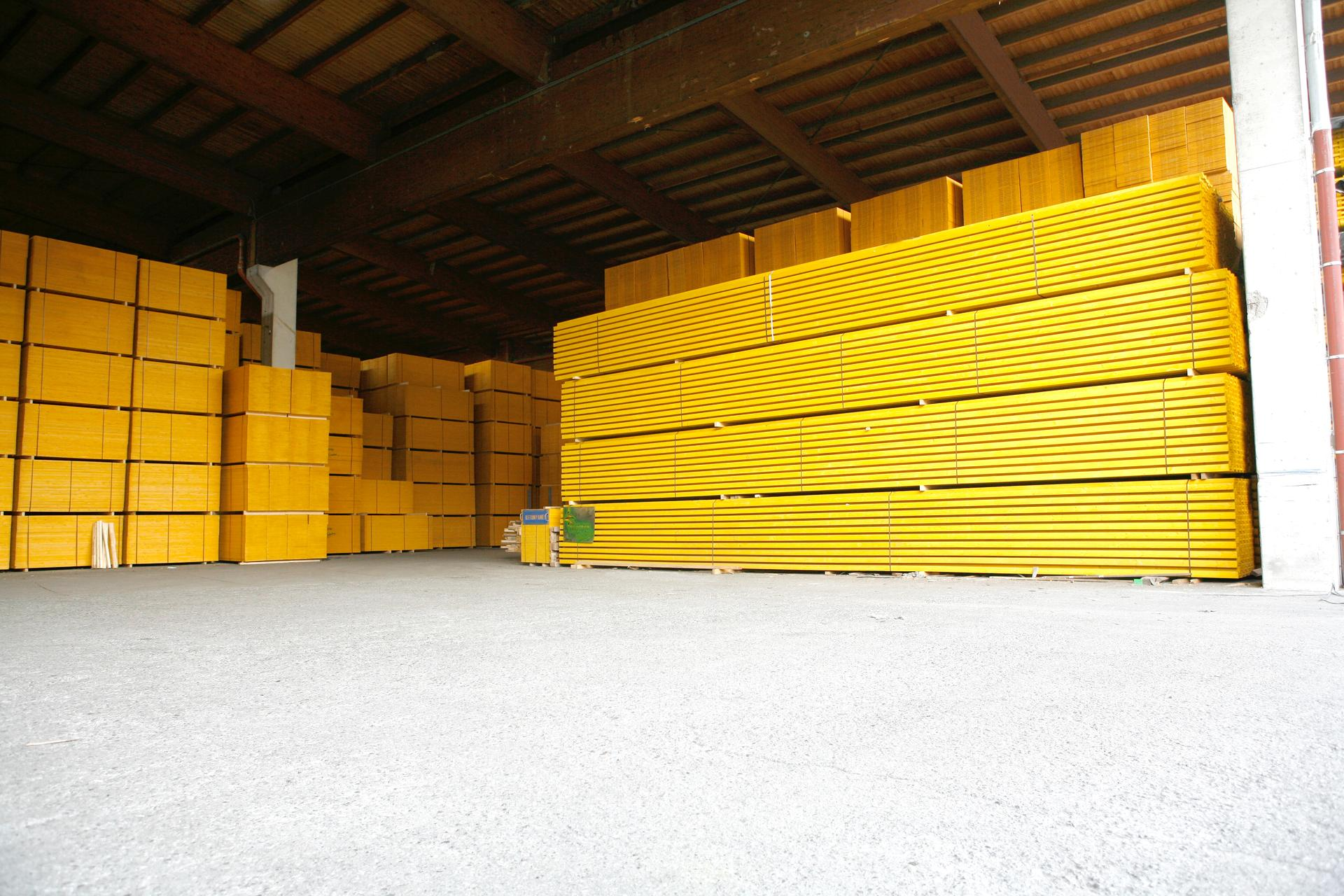 Mur Exterieur En Planche De Coffrage matériaux de construction