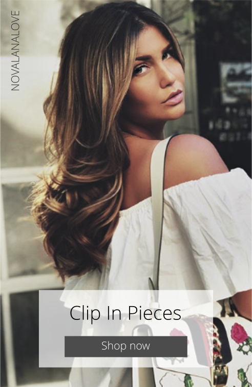 CLIP IN HAIRPIECES