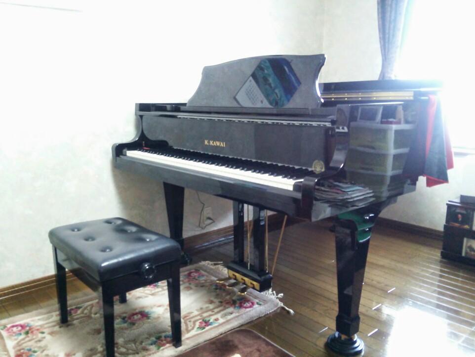使用ピアノはKAWAIヨーロピアンモデルRX-3EU