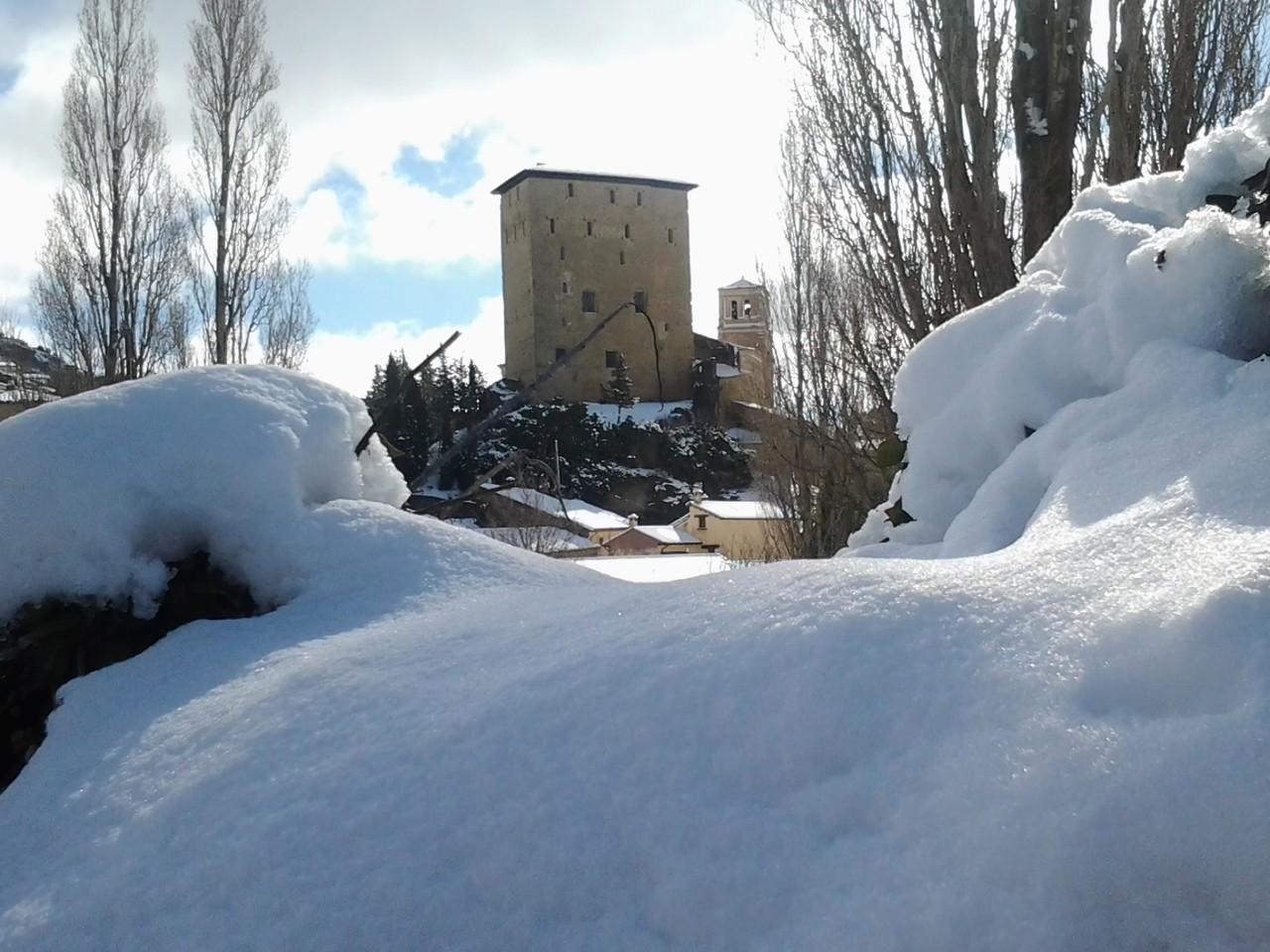 Biel nevado