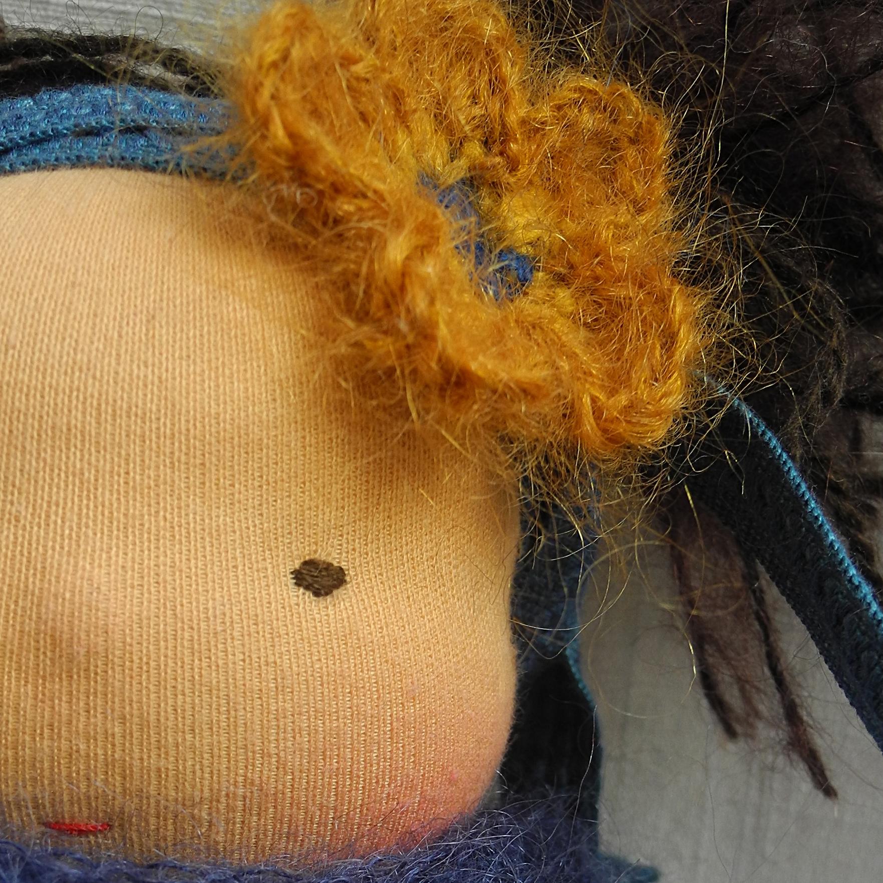 Haarband, Herbstblume