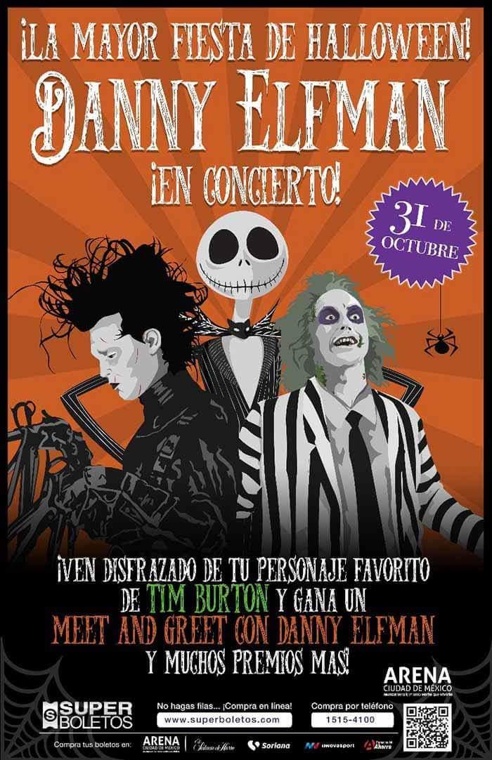 La música de Tim Burton en concierto