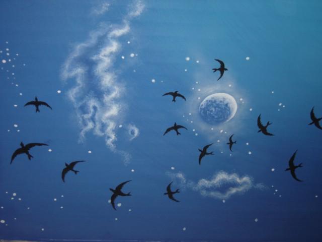 Faux ciel de nuit