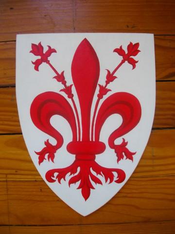 Armoiries de Florence 20x25cm