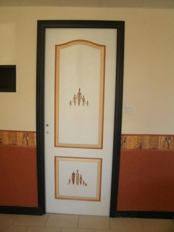 Boiserie Acompagnement Fresque Afrique