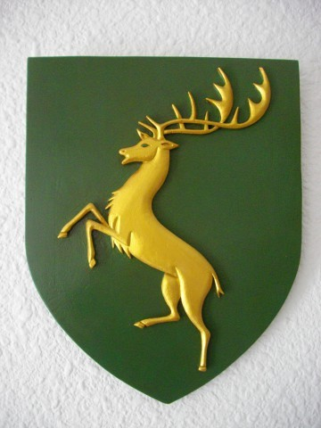 Reproduction Blason Cerf