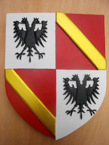 Reproduction Blason ecartelé