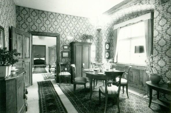 Ausstellungsräume im 2. OG in den 70er Jahren.