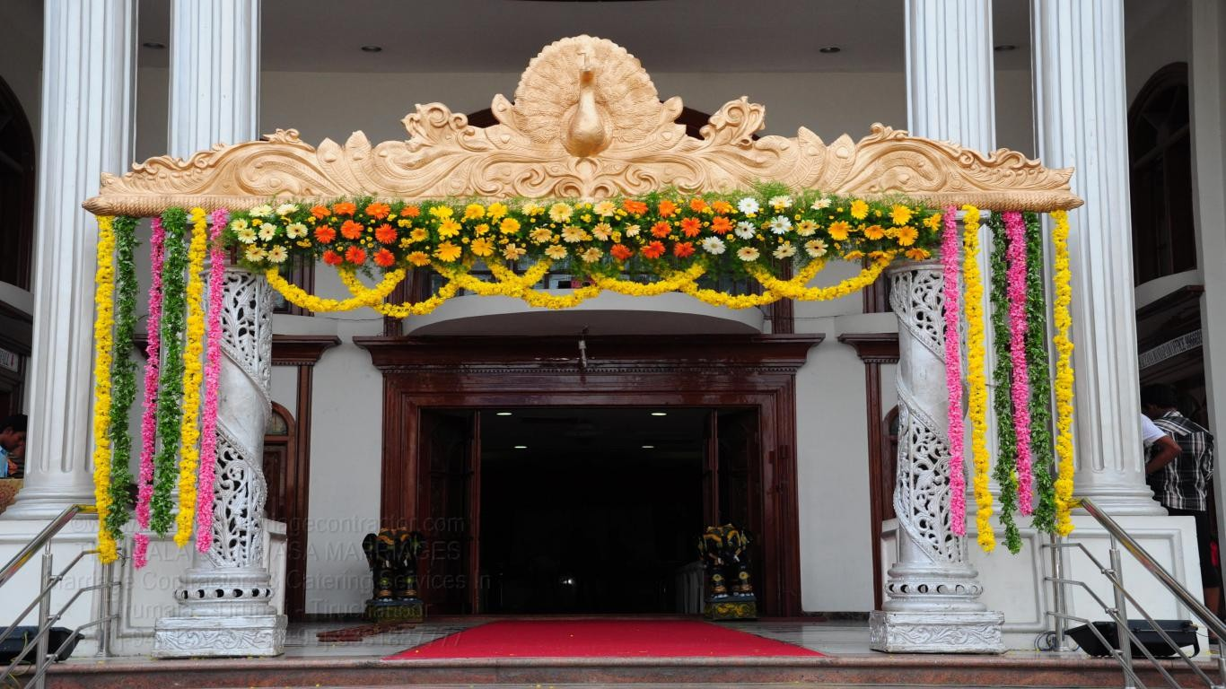 tirumala marriage contractor - name board & entrance 116