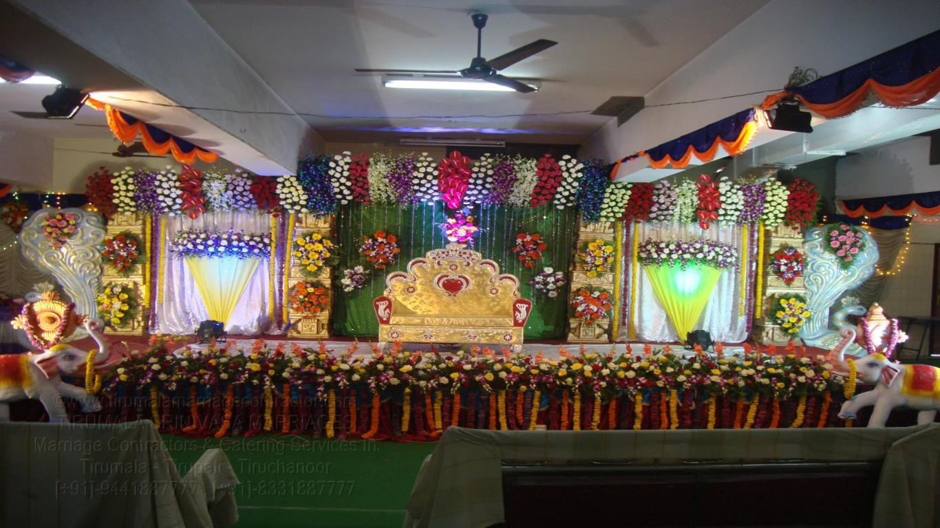 tirumala marriage contractor - reception 59