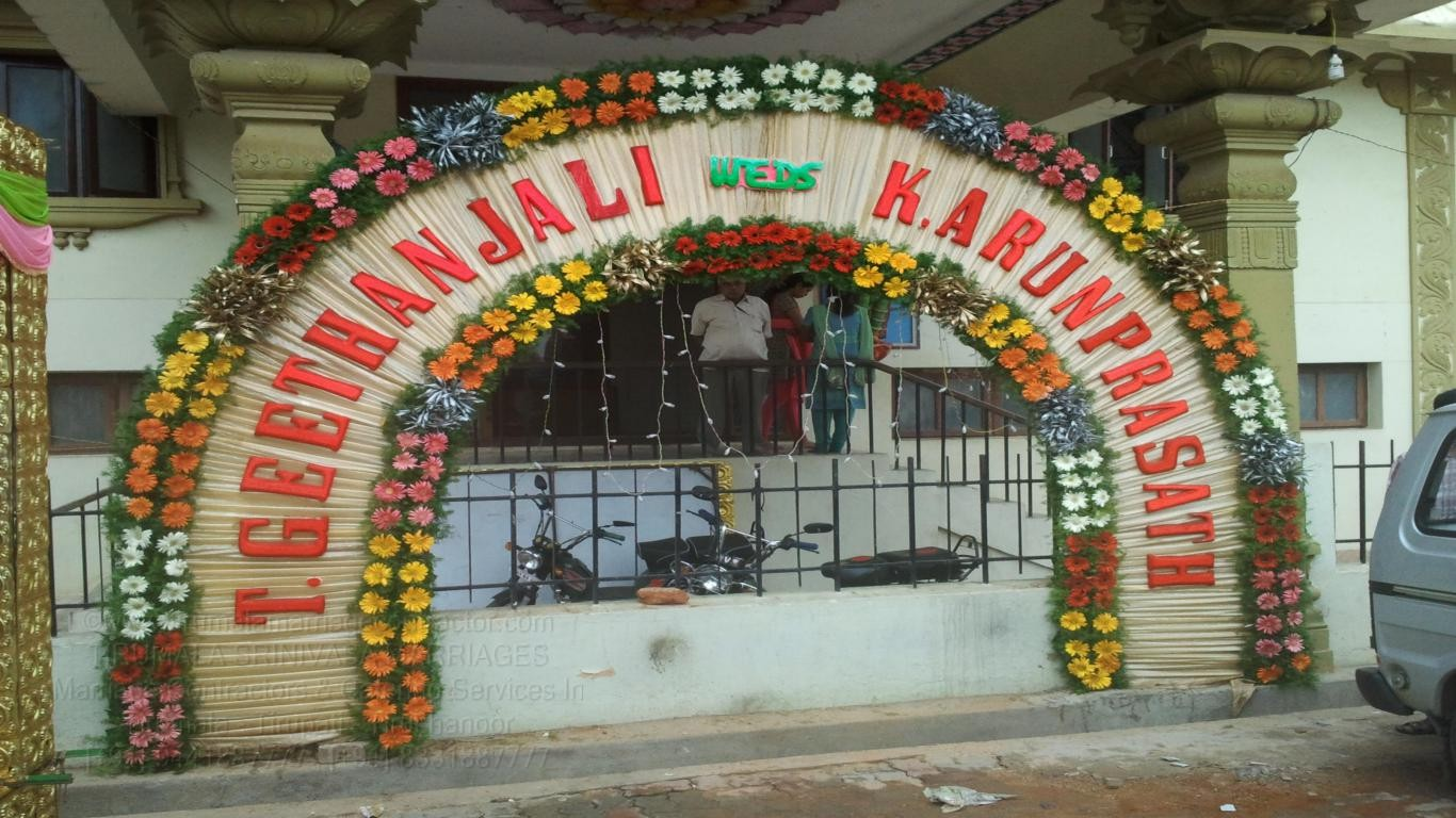 tirumala marriage contractor - name board & entrance 24