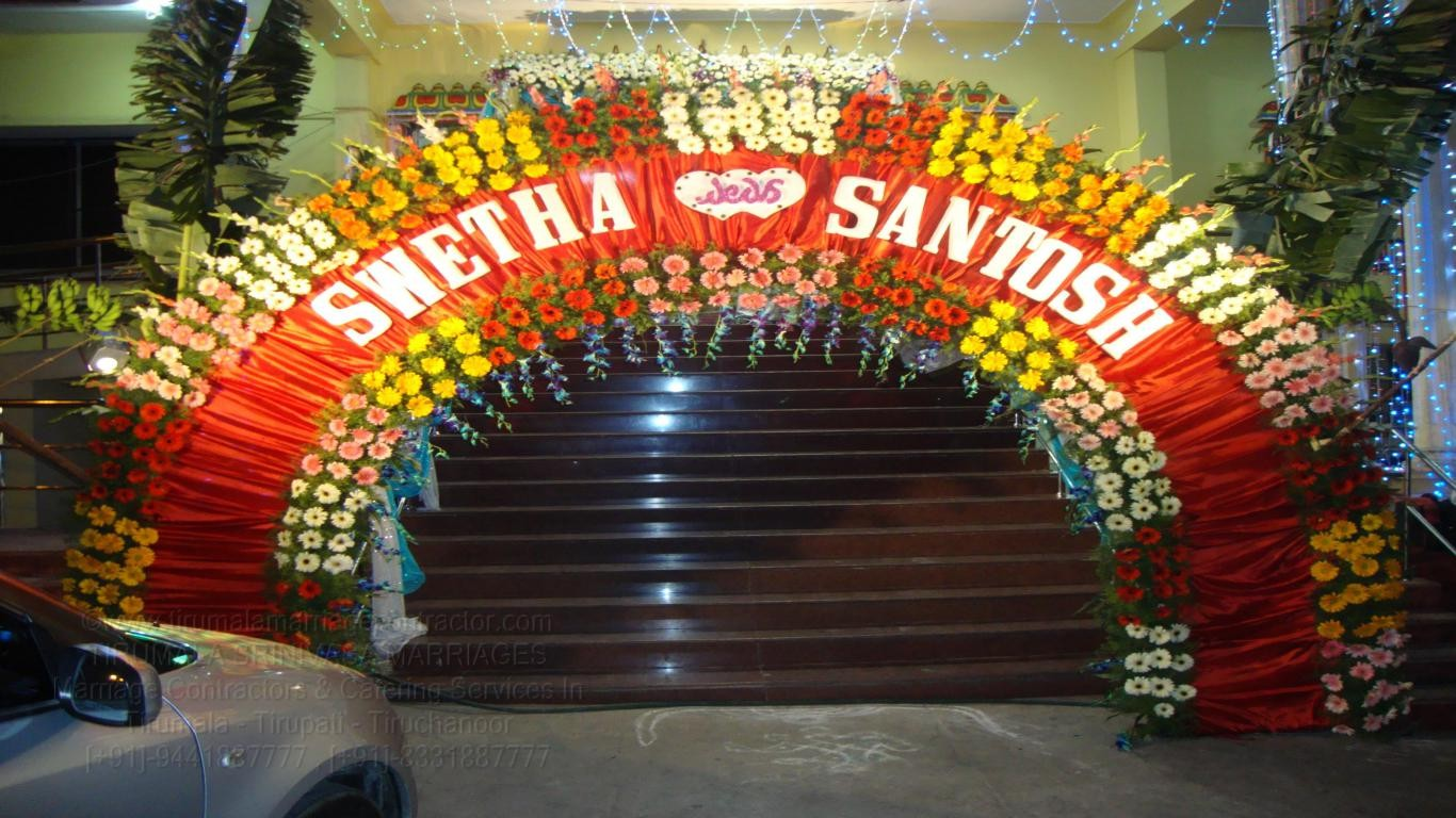 tirumala marriage contractor - name board & entrance 44