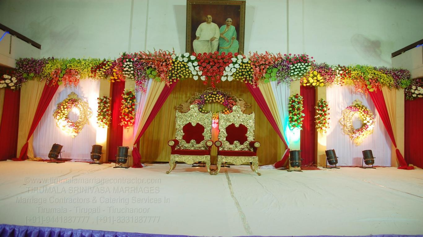 tirumala marriage contractor - reception 40