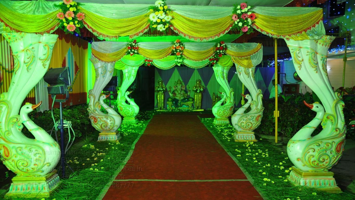 tirumala marriage contractor - name board & entrance 125