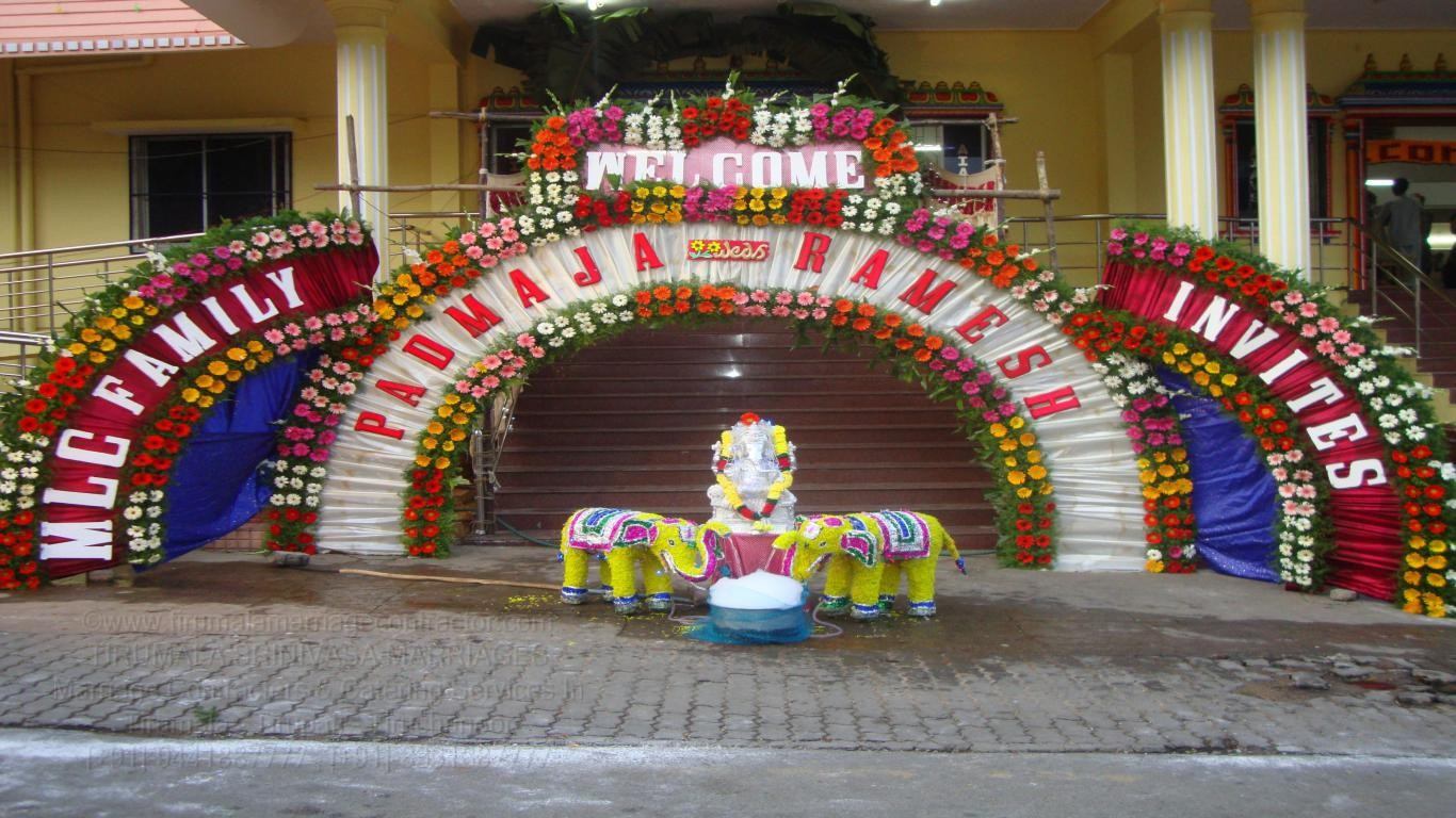 tirumala marriage contractor - name board & entrance 54