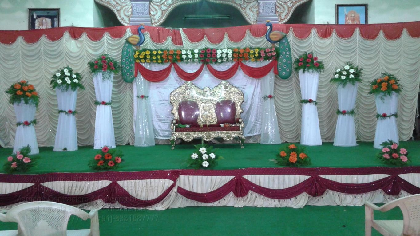 tirumala marriage contractor - reception 29