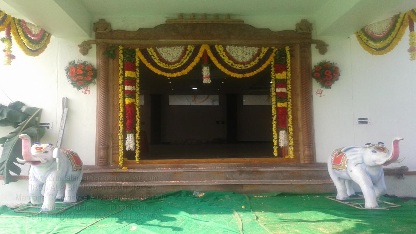 tirumala marriage contractor - name board & entrance 70