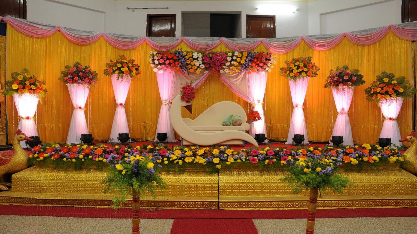 tirumala marriage contractor - reception 37