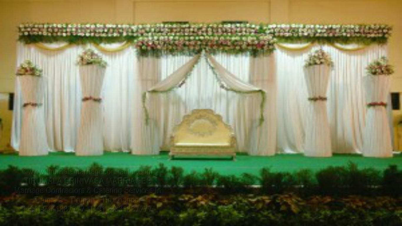 tirumala marriage contractor - reception 76
